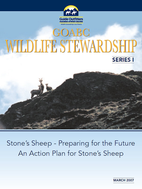 Wildlife Stewardship 1 - Stone Sheep