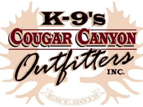 K-9's Cougar Canyon Outfitters logo
